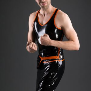 Athletic Tanktop_Crotch Pants Short_Belly Bag_Aries_Maniac Latex