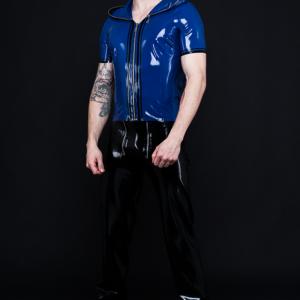 Zip Hoodie_Craftmans Trousers (1)_Spikes'n'Stripes_Maniac Latex