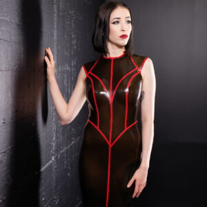 Vaine Dress_Spikes'n'Stripes_Maniac Latex