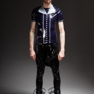 Button Down Shirt_Crotch Pants (1)_The Rising_Maniac Latex
