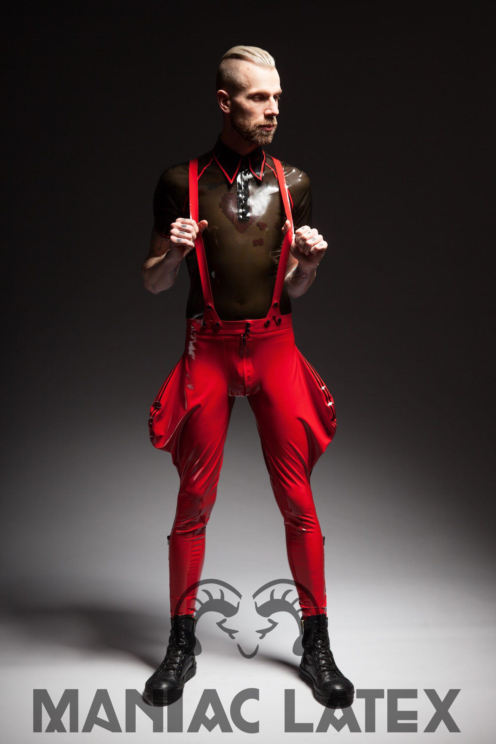 Hardy Polo_Cavalier Pants (1)_The Rising_Maniac Latex